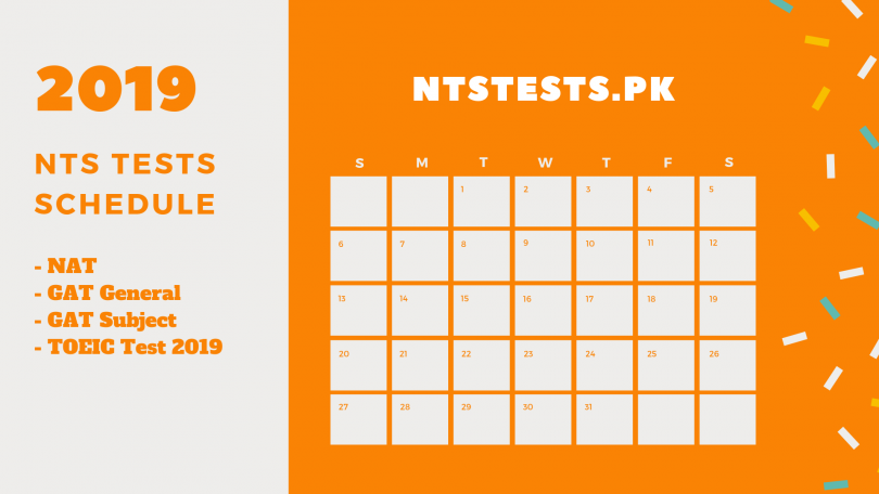 nts test dates